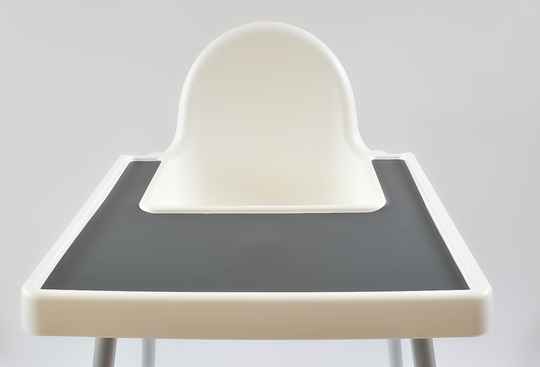 Charcoal IKEA Highchair Placemat