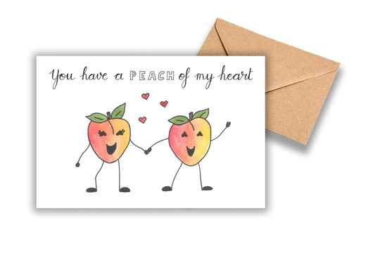 You have a peach of my heart