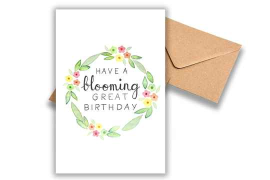 Have a blooming great birthday!
