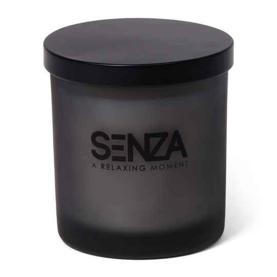 Scented candle sandalwood amber - SMALL