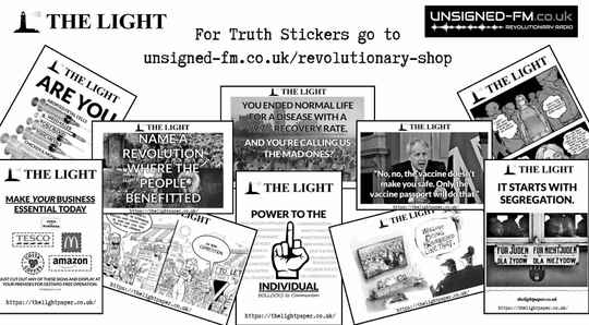 The Light - Truth stickers