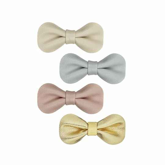 Gracie Bow Clips pastel