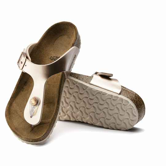 Birkenstock Gizeh Electric Metallic Copper