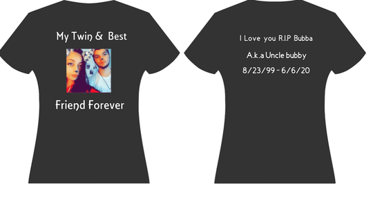 Customized in remembrance shirts