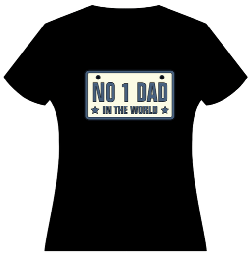 no. 1 dad in the world