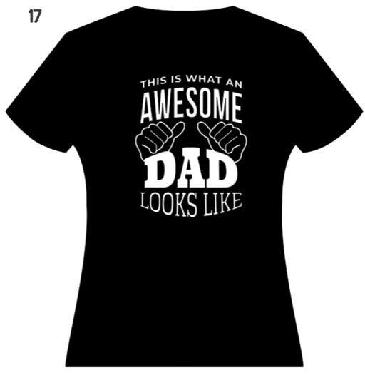 what an awesome dad looks like