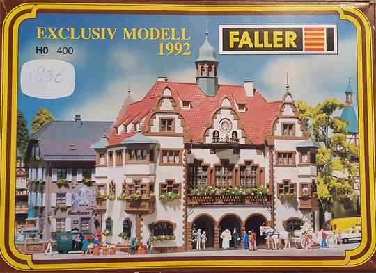 Faller 400 - Exclusiv Modell 1992 Rathaus (1836)