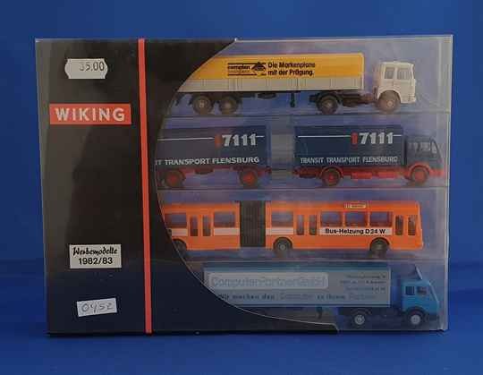 Wiking - reclame set trucks 1982/83 (0452)