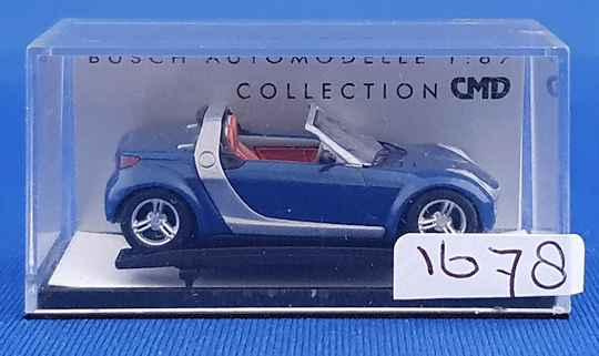 Busch 49305 - Smart Roadster Cabrio CMD (1678)