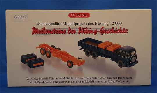 Wiking - Büssing 12.000 Set - (0443)