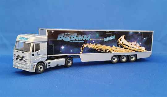 "Wiking 6964052 - Iveco Euro Star ""Bundeswehr Big Band"" (1574)"