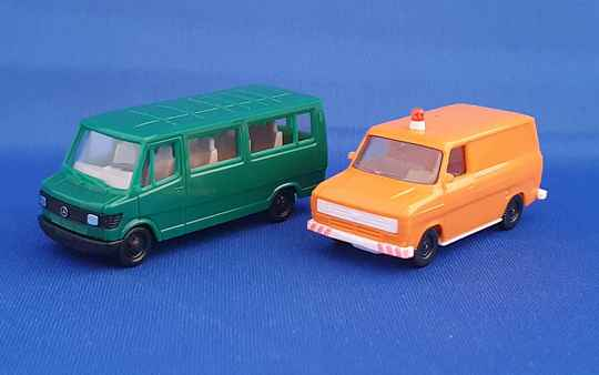 Set 2 x bestelbus MB & Ford (9531)