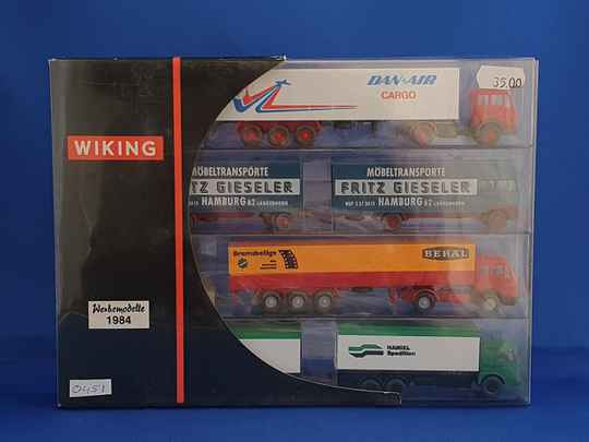 Wiking - reclame set trucks 1984 (0451)