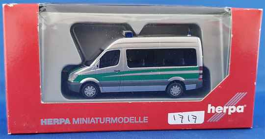 "Herpa 047654 - Mercedes Benz Sprinter 06 bus ""Polizei"" (1717)"