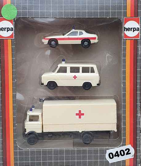 Herpa 7501 Set Ambulance (0402)