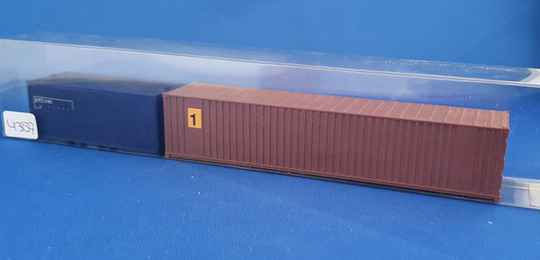 Set containers 1x 40ft + 1x 20ft (4387)