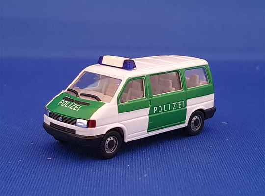 Herpa 041874 - VW T4 Caravelle - Polizei (1635)
