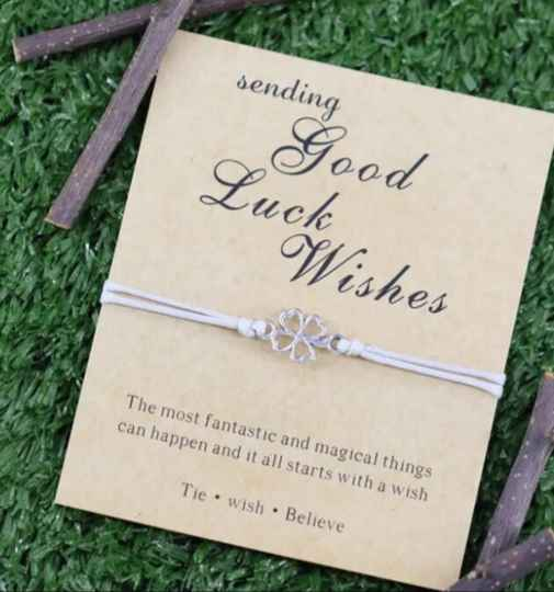 Sending good luck wishes