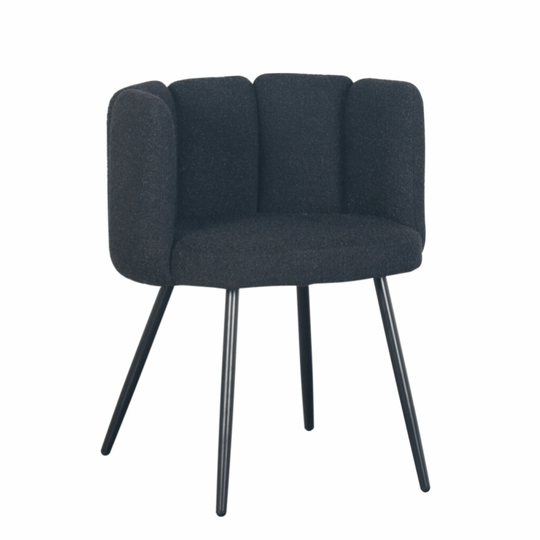 High Five Chair Black Pearl (Boucle) | Pole to Pole