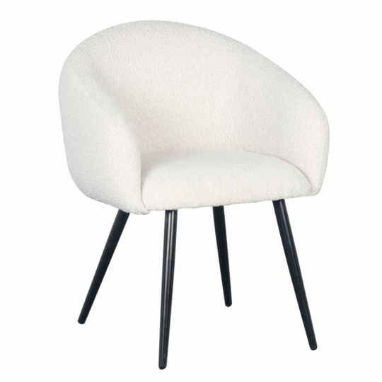 Bubble Chair White Pearl (Boucle) | Pole to Pole