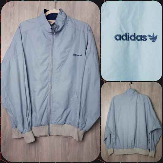 Vintage Sports Top    Baby Blue