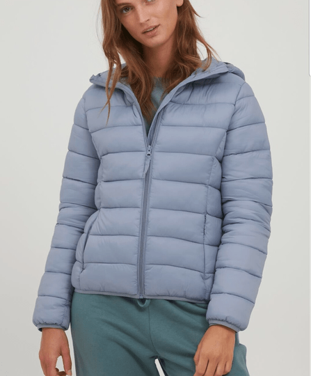 Byoung jas blauw