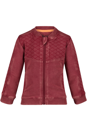 4PRESIDENT Vest Colbey Washed Red