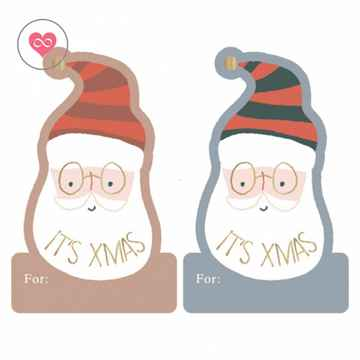 Kerst   Stickers   X-mas Stickers Duo   House of Products   Set van 10