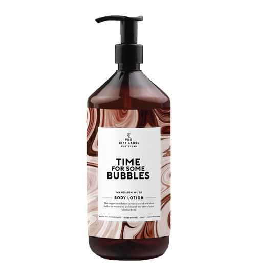The Gift Label Bodylotion Time for some bubbles