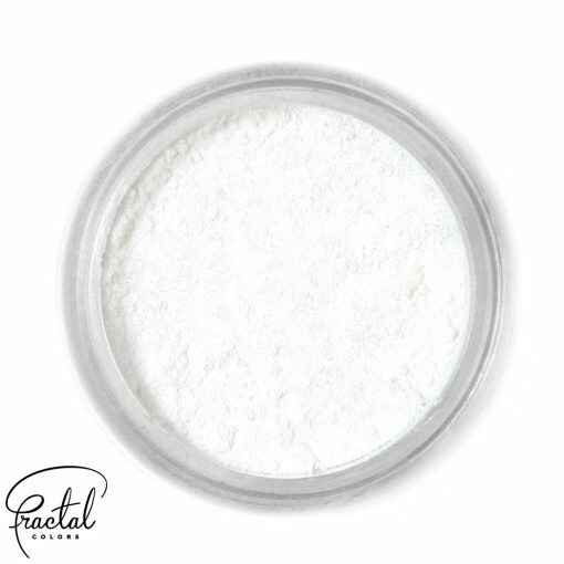 WHITE SNOW - FUNDUSTIC® DUST FOOD COLORING - GB - 10 ML