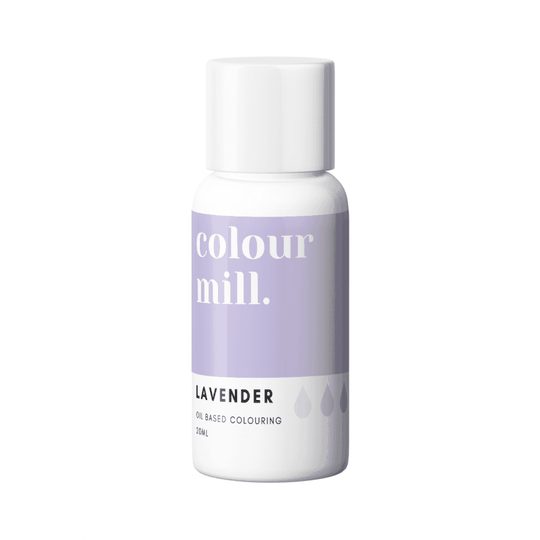 COLOUR MILL Lavender Oil Based Food Colouring 20ml