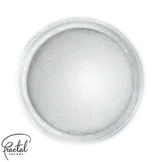 LIGHT SILVER - SUPEARL SHINE® DUST FOOD COLORING - GB - 10 ML
