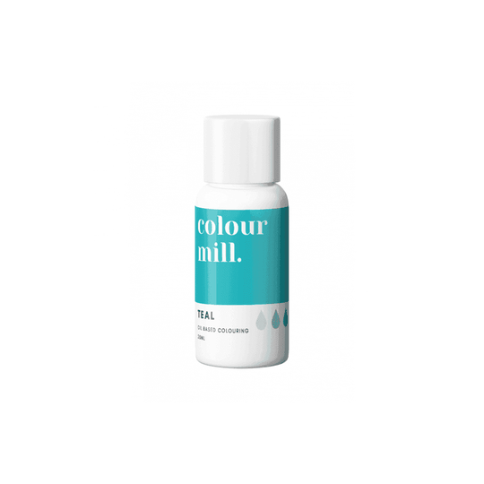 COLOUR MILL Teal Oil Based Food Colouring 20ml