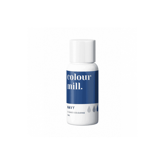 COLOUR MILL Navy Oil Based Food Colouring 20ml