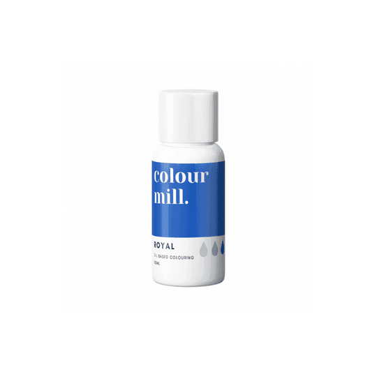 COLOUR MILL Royal Oil Based Food Colouring 20ml