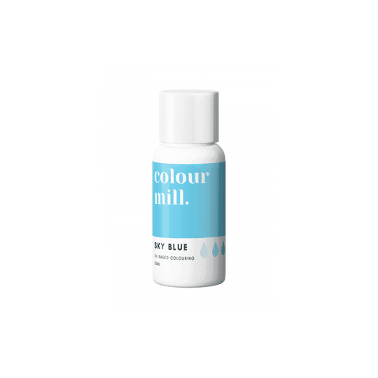 COLOUR MILL Sky Blue Oil Based Food Colouring 20ml