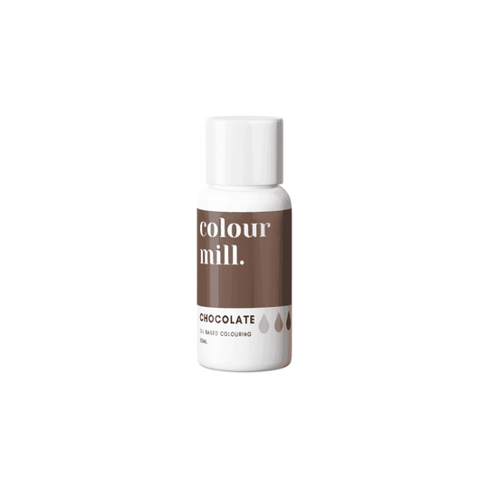 COLOUR MILL Chocolate Oil Based Food Colouring 20ml