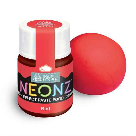 NEONZ Paste Food Colour Red 20g
