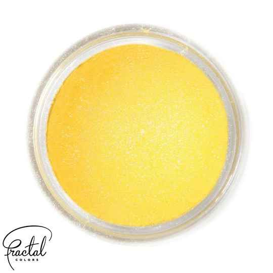 SUNFLOWER YELLOW - SUPEARL SHINE® DUST FOOD COLORING - GB - 10 ML