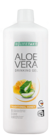 Aloe Vera Drinking Gel Traditionell mit Honig - Lifetakt