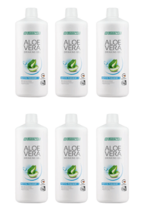 Aloe Vera Drinking Gel Active Freedom 6er Set - Lifetakt