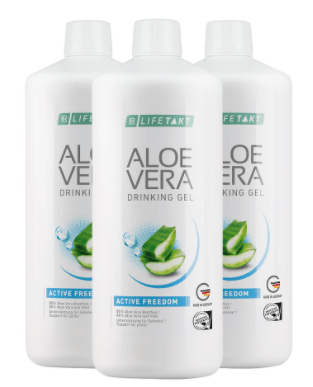 Aloe Vera Drinking Gel Active Freedom 3er Set - Lifetakt