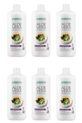 Aloe Vera Drinking Gel Açaí Pro Summer 6er Set - Lifetakt