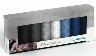 Set winterkleuren Amann Mettler silk finished cotton 50