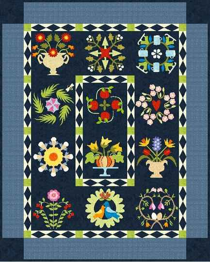 A beautiful year in applique