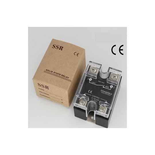 Solid state relais 40A, 0-10Vdc, 24-380v, proportioneel   51496