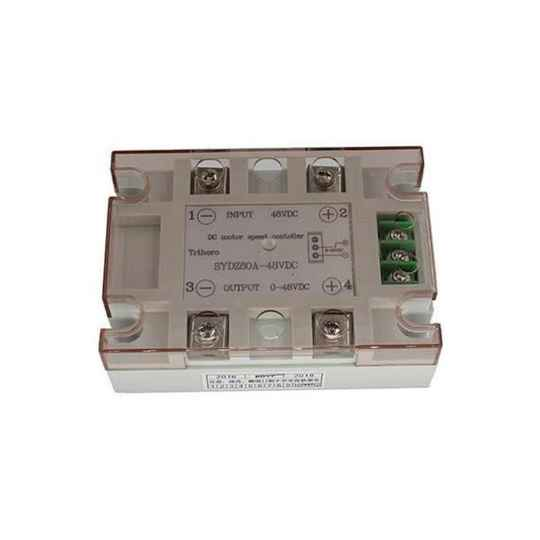 Solid state relais 48vdc/80A, 0-10Vdc, proportioneel   51566