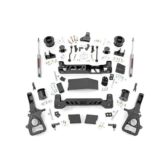 Rough Country 5'' lift kit 1500 Luchtvering 2019 - nu