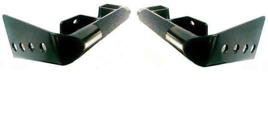 Pair of heavy duty rear bumper corners for Defender 90 without SWC