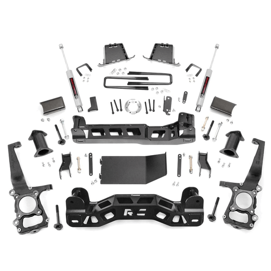 Rough Country 6'' lift kit F150